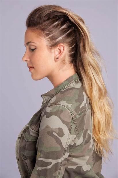 Mohawk Fauxhawk Hawk Faux Hairstyles Como Moicano