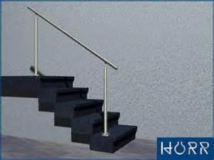 handlauf fã r treppe edelstahl treppengeländer boden handlauf ohne füllung bis 4 5 m treppe bausatz ebay