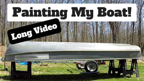 How To Repair Aluminum Boat Paint by Aluminum Boat Painting Arkansas Defendbigbird