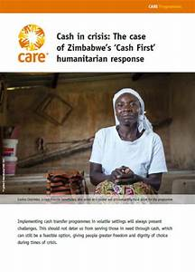 Cash in crisis: The case of Zimbabwe's 'Cash First ...