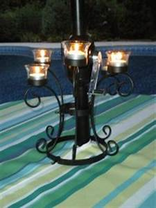 Candelabra Solar Lights Patio Umbrella Lights Solar Candles And Battery Operated