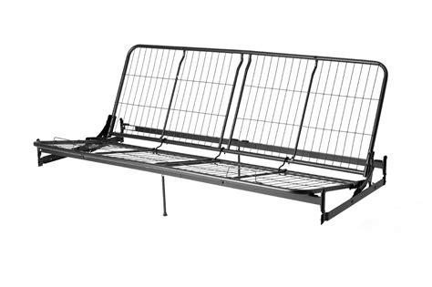 dorel metal futon frame arms mattress sold separately