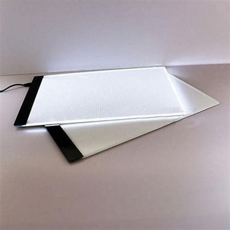 light table for tracing led tracing light box artist board a4 drawing pad