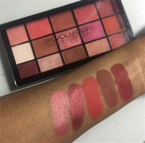 color revolution makeup makeup revolution reloaded newtrals 2 palette savin up