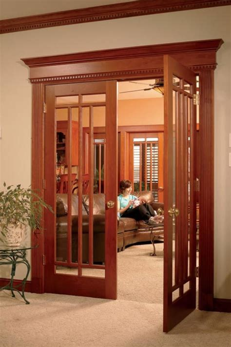 French Doors In Arts & Crafts Style Homes — Arts & Crafts