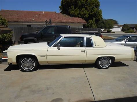 Purchase Used 1983 Cadillac Deville Base Coupe 2-door 4.1l