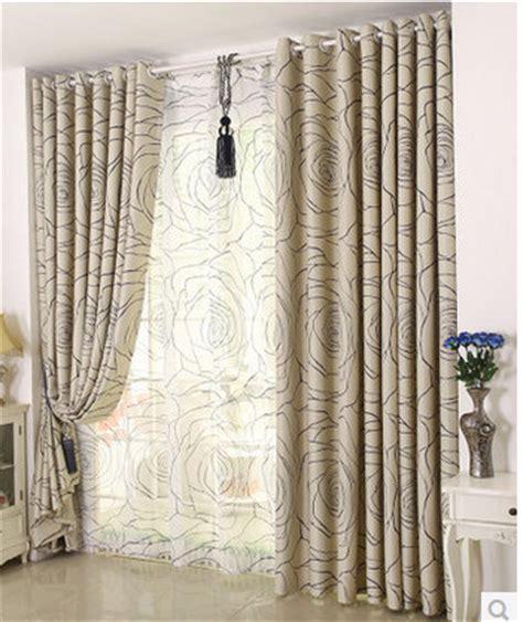 pas cher simple moderne rideau chambre rideaux fini personnalisation de haute qualit 233 salon