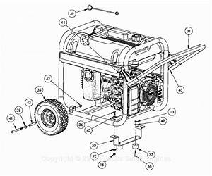 Powermate Formerly Coleman Pm0435001 Parts Diagram For