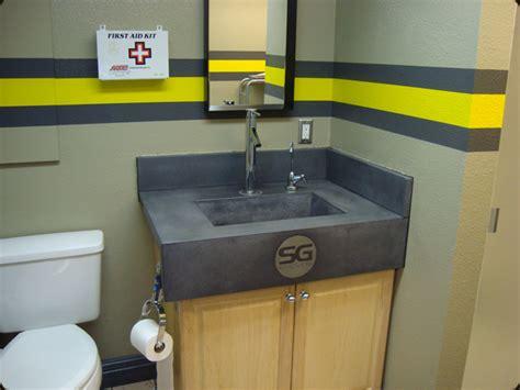 Lucky Pie Bathroom Concrete Sink Commercial 171 Concrete Pete
