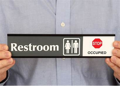 Occupied Restroom Signs Se Slider Vacant Sign