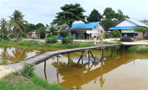 dipertan penajam normalisasi sungai atasi sawah terendam