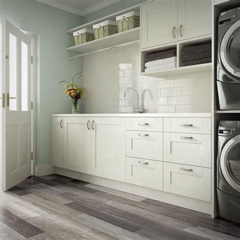 complete  mudroom  laundry room  wood  tile