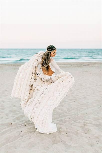 Beach Florida Photographer Boho Bridal Inspiration Island