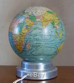 Lampe Globe Terrestre : globe terrestre globe en verre lampe mappemonde par forest art deco paris ~ Teatrodelosmanantiales.com Idées de Décoration