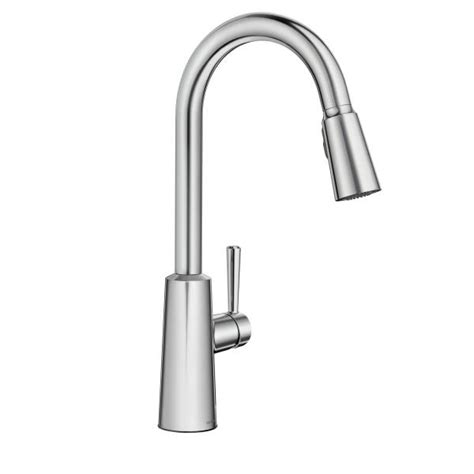 Ferguson Moen Kitchen Faucets by Chrome High Arc Pulldown Kitchen Faucet Kitchen