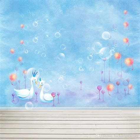 baby newborn sky blue photo booth background bubbles