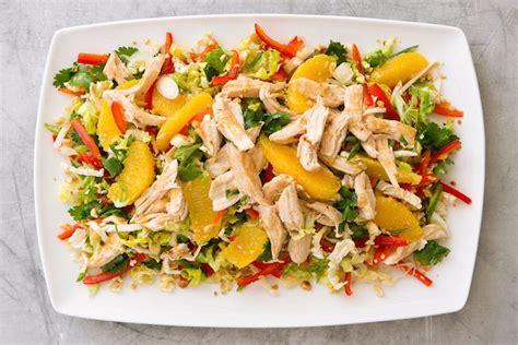 weekend recipe chinese chicken salad kcet