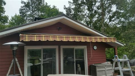 retractable awnings interstate awning sign llc
