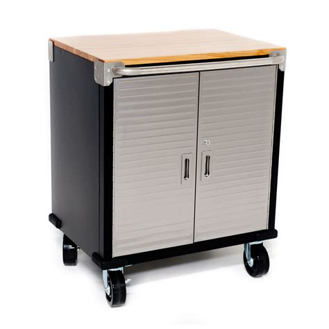 shop storage cabinets shop for maxim hd 2 door timber top roll cabinet garage