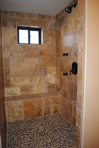 Travertine Showers