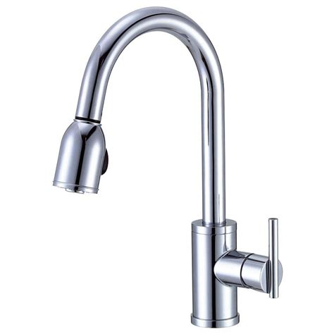 kitchen faucets danze danze parma pull single handle kitchen faucet