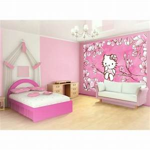 decorer pour chambre d39enfant hello kitty etagere pour With déco chambre bébé pas cher avec fleur sechees