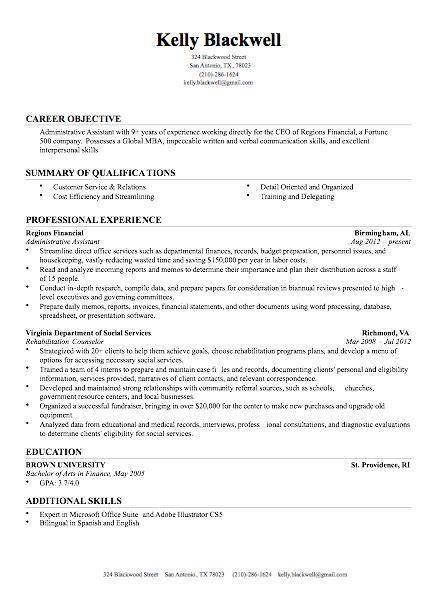 resume   modern resume
