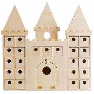 Calendrier De L Avent En Bois à Décorer : calendrier de l 39 avent en bois chateau fort ou chateau de ~ Zukunftsfamilie.com Idées de Décoration