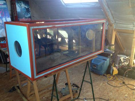 fabriquer aquarium en plexiglas information avant lancement