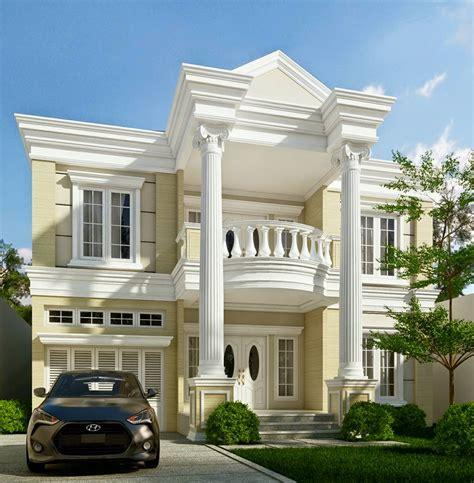 ide desain rumah klasik minimalis