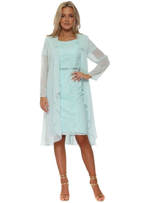 mascara mint coat dress mc185184ab