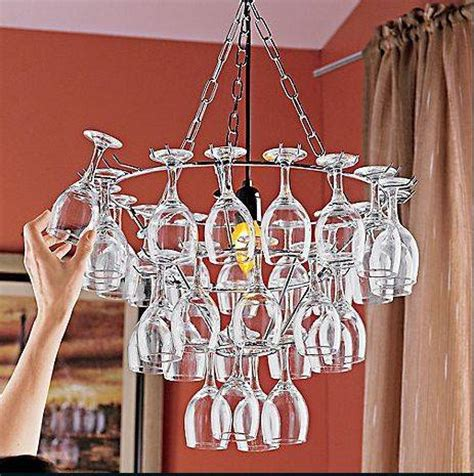wine glass chandelier 11 creative ideas guide patterns