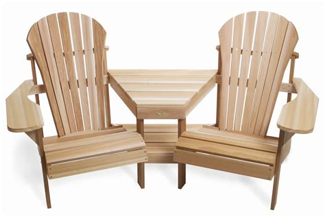 adirondack tete a tete by all things cedar adirondack