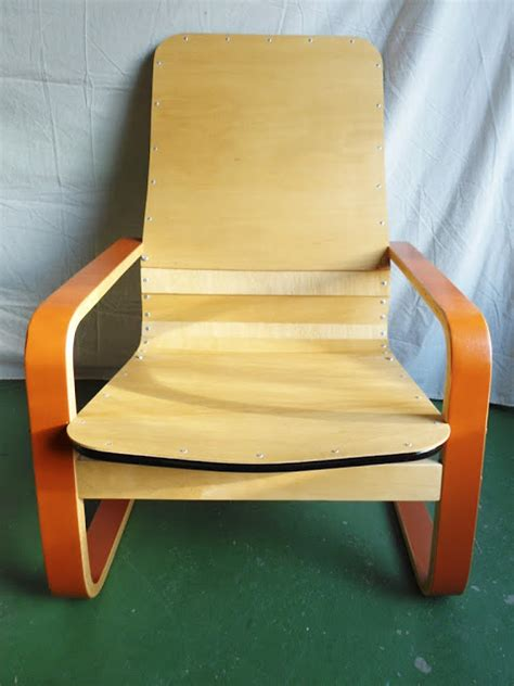 Ikea Pello Chair Hack by Riveting Ply Pello Recliner Ikea Hackers Ikea Hackers