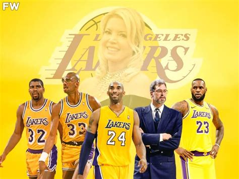 Jeanie Buss Selects The 5 Most Important Lakers Of All ...