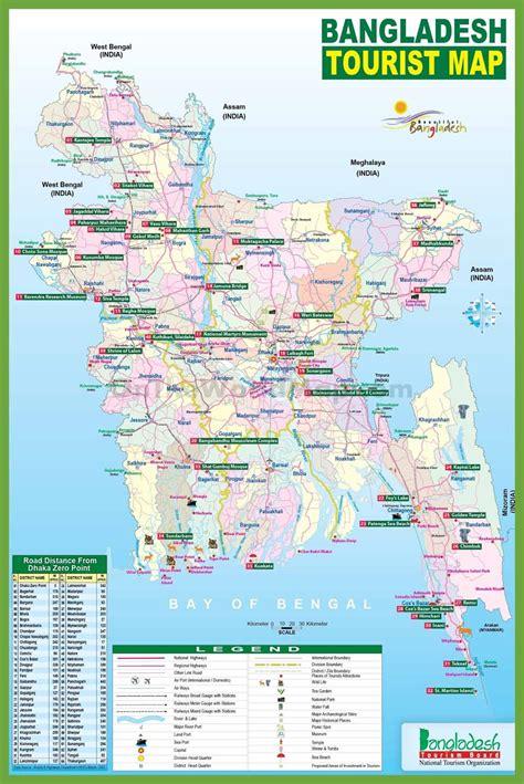 bangladesh map   bangladesh located einfon