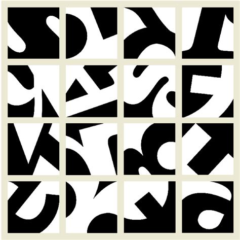 negative space letters the principle of figure ground visual communication design 82866