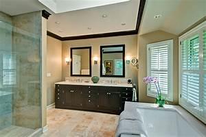 Transitional Spa Bathroom, Barrington IL - Better Kitchens