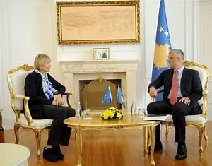 Thaçi receives the Secretary General of the EEAS, Helga ...