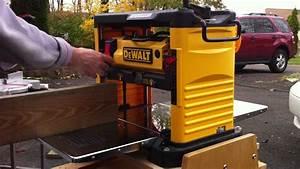 Dewalt Portable Thickness Planer - YouTube