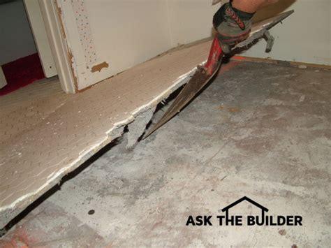 Removing Ceramic Tile is Easy   AsktheBuilder.com