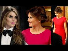 Hope Hicks and Melania Trump