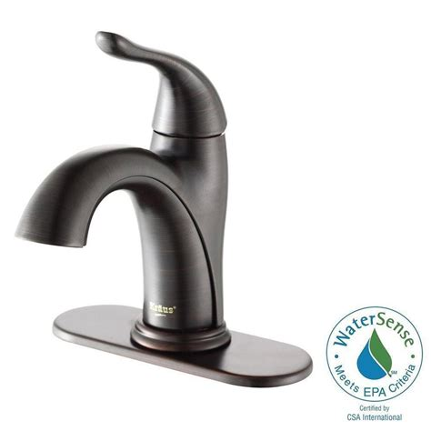 bathroom sink lever taps kraus arcus single hole single handle bathroom faucet in