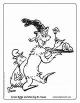 Ham Eggs Coloring Seuss Dr Pages Printable Printables Suess Activity Draw Preschool Template Sheet Crafts Activities Characters Egg Worksheets Sheets sketch template