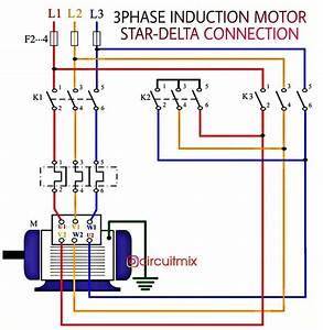 Star Delta 3 Phase Motor Wiring Diagram