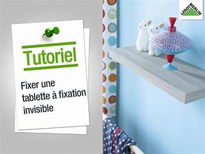 Tablette Murale Fixation Invisible Leroy Merlin