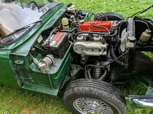 78 Triumph Spitfire 1500 Rebuilt Engine Dayton Wire Wheels