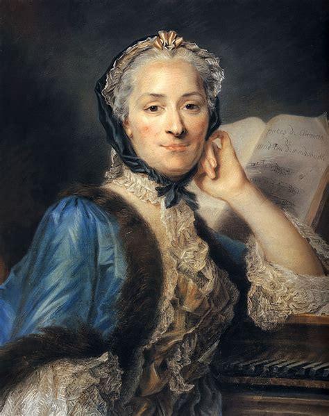 maurice quentin delatour la marquise de pompadour madame de mondonville maurice quentin de la tour wikiart org