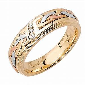 15 Best Of Three Color Braided Wedding Bands