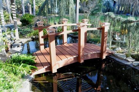 amazing garden bridge design ideas